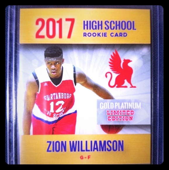 Zion Williamson High School Rookie Card